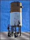 E. L. Nickell High Stage Vertical Ammonia Recirculator Package – 65 in. Dia. x 12 ft. L
